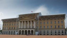 Palacio real en Oslo foto de archivo