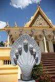 Palacio real en Phnom Penh Fotografía de archivo