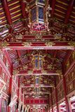 Palacio real en tonalidad, Vietnam fotos de archivo