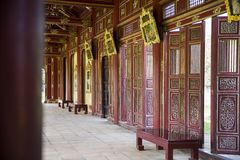 Palacio real en tonalidad, Vietnam imágenes de archivo libres de regalías
