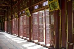 Palacio real en tonalidad, Vietnam imagen de archivo
