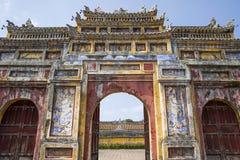 Palacio real en tonalidad, Vietnam imagen de archivo libre de regalías