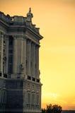 Palacio real español Fotografía de archivo libre de regalías
