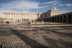 Palacio Real Madrid Stock Images