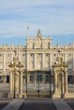 Palacio real, Madrid Imagenes de archivo