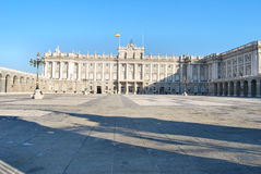 Palacio Real of Madrid Royalty Free Stock Image