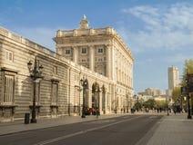 Palacio real madrid Royalty Free Stock Photo
