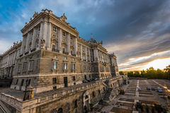 Palacio Real Madrid Obraz Stock