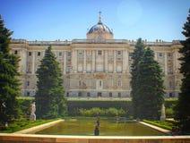 Palacio Real Madrid Royalty Free Stock Image