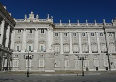 Palacio Real in Madrid, Spain Stock Photo