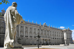 Palacio Real in Madrid, Spain Stock Photography