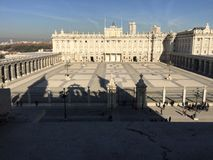Palacio Real, Madrid, Spain Stock Image
