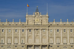 Palacio real in Madrid - Spanien Stockfotografie