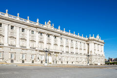 Palacio Real Madrid. Stock Images