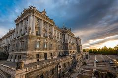 Palacio Real - Madrid Stock Image