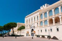 Palacio real, residencia del príncipe de Mónaco Fotos de archivo