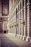 Palacio Real - Spanish Royal palace in Madrid Royalty Free Stock Images