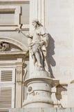Palacio Real. Statue from the Palacio Real in Madrid Royalty Free Stock Photos