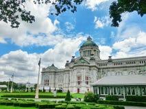 Palacio real tailandés, Bangkok, Tailandia Foto de archivo libre de regalías