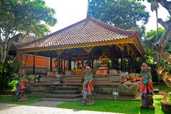 Palacio real, Ubud, Bali, Indonesia Imágenes de archivo libres de regalías