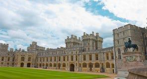 Palacio real viejo, castillo de la piedra de Windsor Fotos de archivo