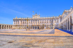 Palacio real w hdr Obrazy Stock