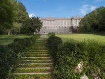 Palacio Real y Jardines del Moro Royalty Free Stock Photography