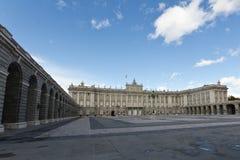 Palacio reale Fotografia Stock Libera da Diritti