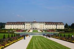 Palacio residencial en ludwigsburg Imagen de archivo libre de regalías