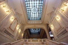 Palacio rico dentro Foto de archivo