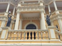 Palacio Rio Branco, Manaus royaltyfria bilder