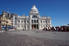 Palacio Rio Branco Royalty Free Stock Photography
