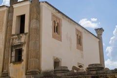 Palacio romano Imágenes de archivo libres de regalías