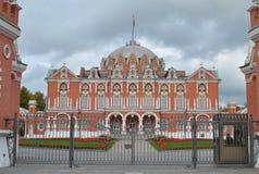 Palacio ruso del ladrillo Fotografía de archivo libre de regalías