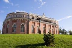 Palacio ruso viejo en Tsaritsyno Foto de archivo