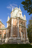 Palacio ruso viejo en Tsaritsyno Imagen de archivo