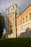 Palacio ruso viejo en Tsaritsyno Fotografía de archivo