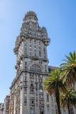 Palacio salva på plazaen Independencia - Montevideo, Uruguay royaltyfria foton