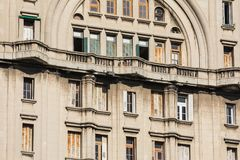 Palacio Salvo in the center of the city of Montevideo, Uruguay. Palacio Salvo in the center of the city of Montevideo, Uruguay Royalty Free Stock Photography