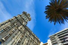 Palacio Salvo in Montevideo. The famous Palacio Salvo in Montevideo, Uruguay Royalty Free Stock Photo