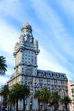 Palacio Salvo in Montevideo Stock Photos