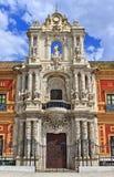 Palacio San Telmo, Presidencia de la Junta de Andalucia, Seville Stock Images