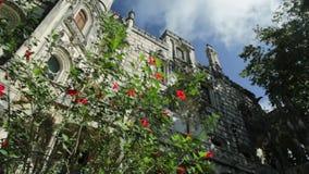 Palacio Sintra de Regaleira almacen de video