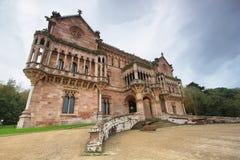 Palacio Sobrellano, Comillas lizenzfreie stockbilder