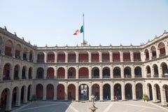 Palacio-Staatsangehöriger, Mexiko City Stockfotografie