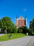 Palacio sueco en el parque de Estocolmo (Suecia) imágenes de archivo libres de regalías