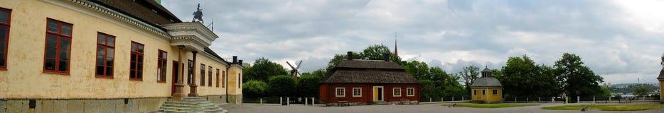 Palacio sueco en Skansen imagen de archivo