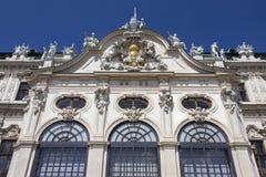 Palacio superior del belvedere - Viena - Austria foto de archivo libre de regalías