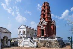 Palacio tailandés viejo del rey en la provincia del phetchaburi, Tailandia Imagen de archivo libre de regalías