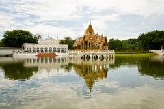 Palacio Tailandia de Bangpain Imagen de archivo libre de regalías
